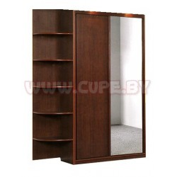 Шкаф купе 1.5 метра, дсп + зеркало
