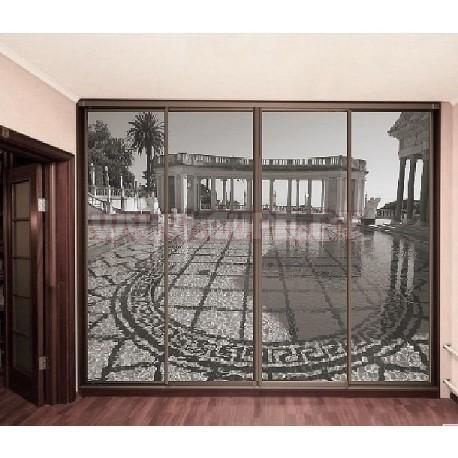 Шкаф купе с фотопечатью Римские колонны