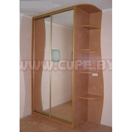 Шкафы купе с зеркалами