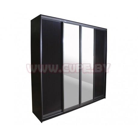 Четыре двери для шкафа-купе дсп и зеркало